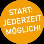Start jederzeit möglich
